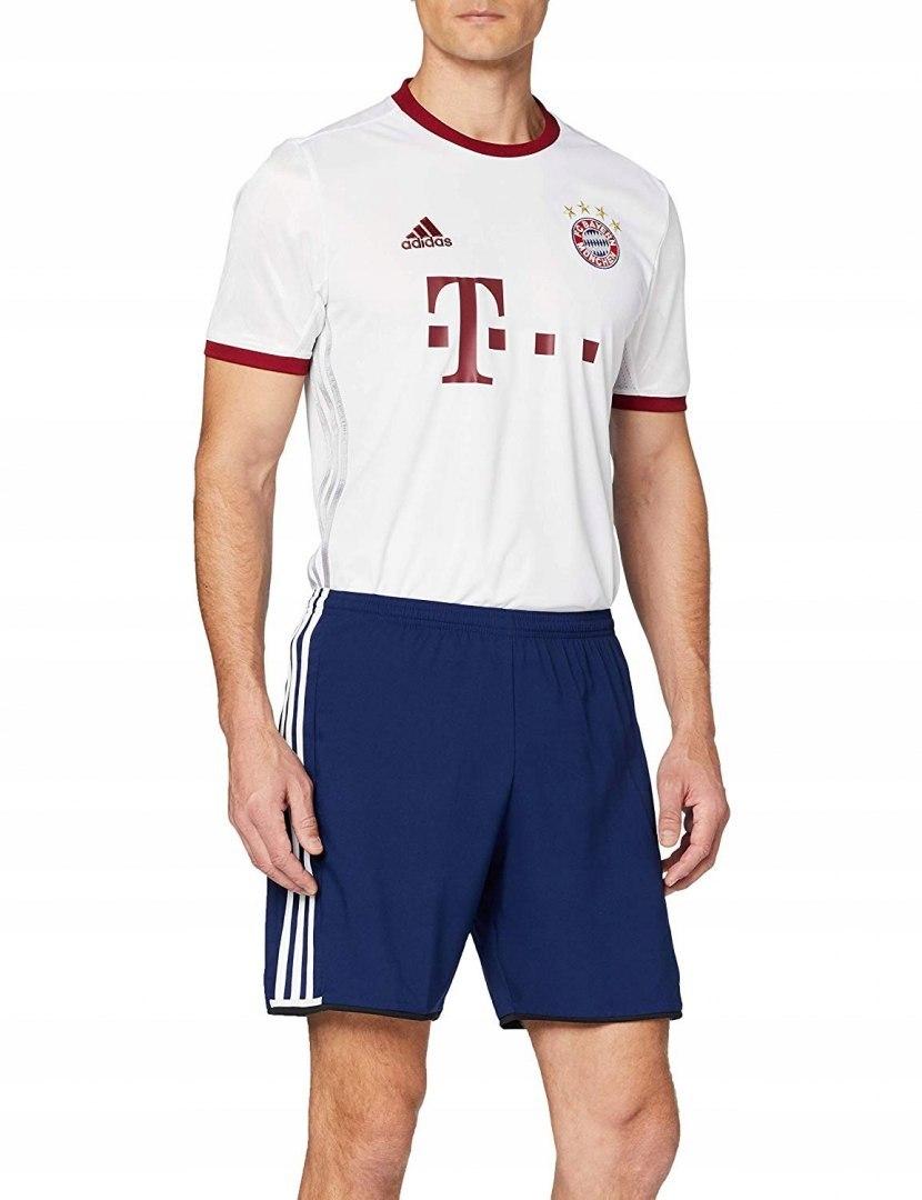 ADIDAS BAYERN MONACHIUM koszulka biała logo 2XL